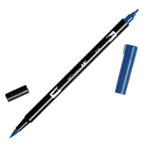 Tombow Dual Brush Pen  ABT 515 to 569  Blue Violet shade