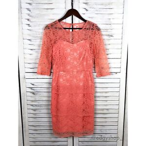 Details About Tahari Arthur S Levine Lace Dress
