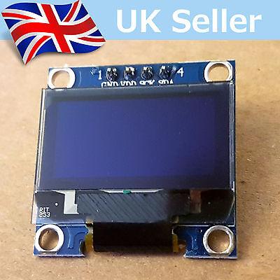 "I2C OLED Display 128X64 0.96"" SSD1306. For Arduino / Raspberry Pi / ESP8266 etc"