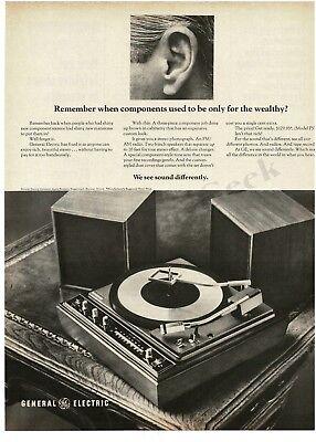 General Electric, 1966 | Vintage television, Vintage ads