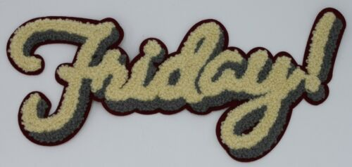 Chenille Patch Friday!