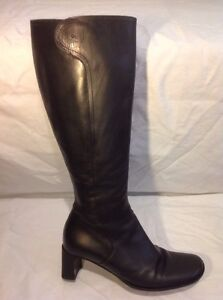 38 For Design Marilyn Boots Black Size Knee High Hobbs Anselm Leather vSqPwqa
