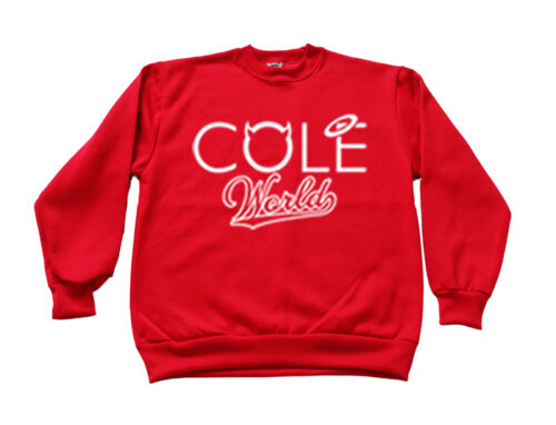 J Cole Crewneck Cole World Jay Z RocNation Kendric Lamar TDE Hip Hop Multi Color