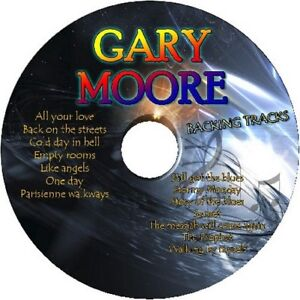 GARY-MOORE-GUITAR-BACKING-TRACKS-CD-BEST-GREATEST-HITS-MUSIC-PLAY-ALONG-BLUES