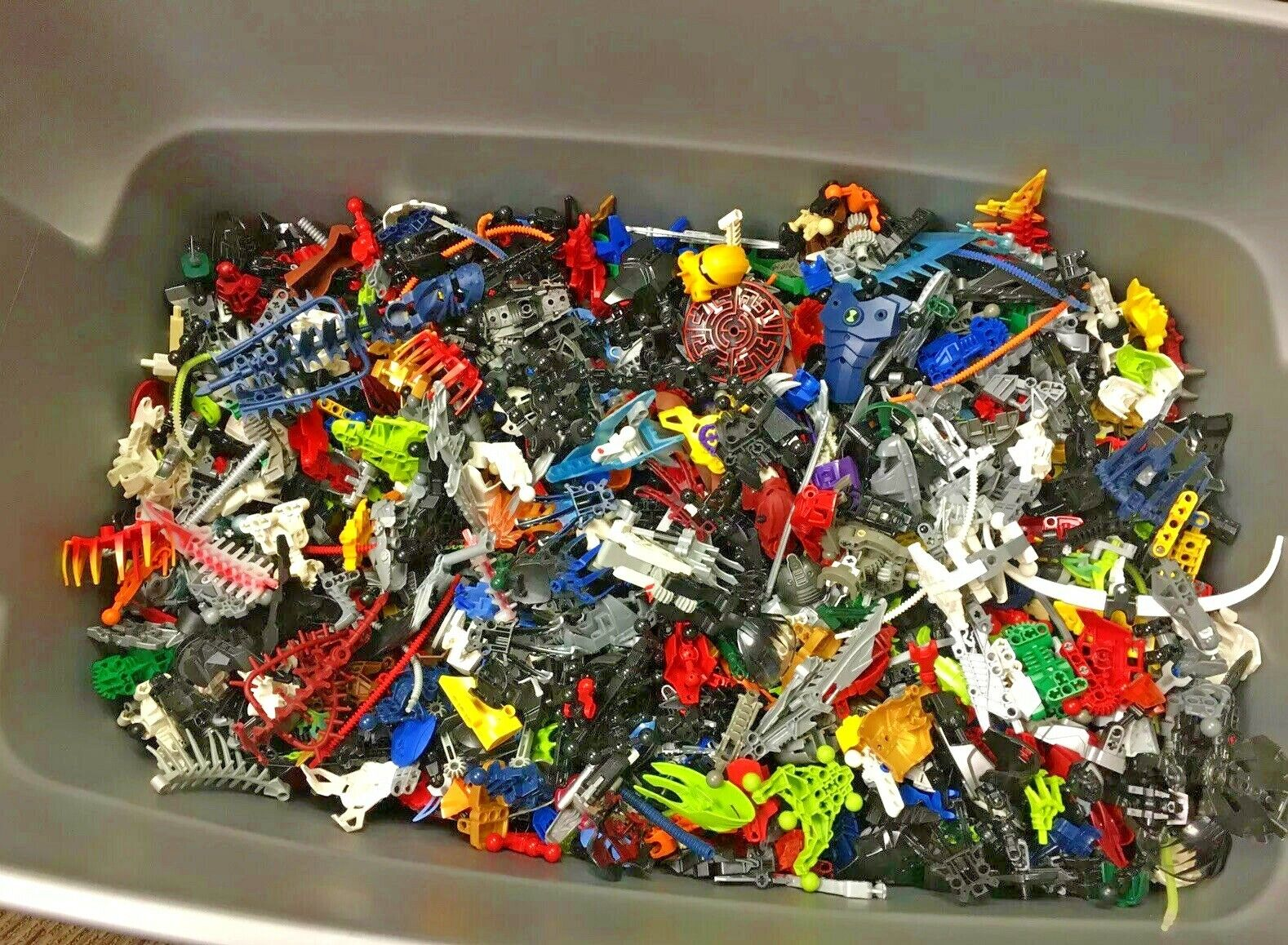 LEGO Bionicle Hero Factory Lot of 1 Pound Bulk Mixed lb pieces /& parts