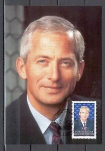 Maxi Card A71 Liechtenstein 1991 Prince Hans Adam II