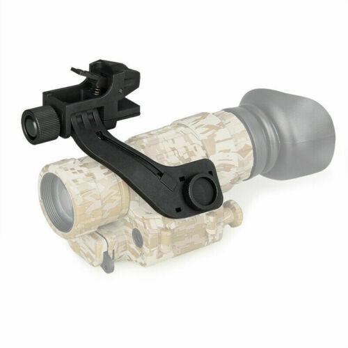Details about  /Black Metal NVG J Arm Mount Bracket for Tactical Night Vision Goggles