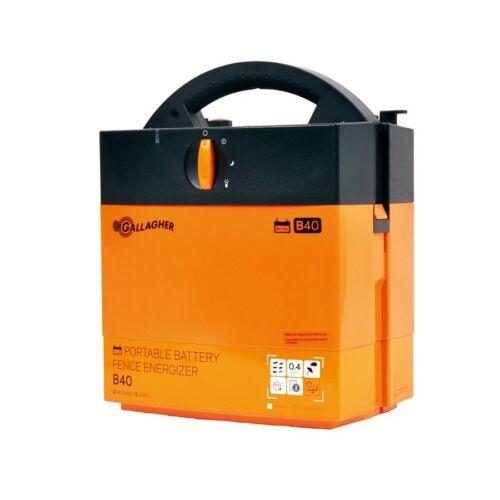 Gallagher Weidezaungerät B40 9V Batteriegerät Elektrozaun Weidezaun
