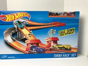 Turbo Race Sets COMPLETE RACE TRACKS Mattel Hot Wheels NEW IN BOX