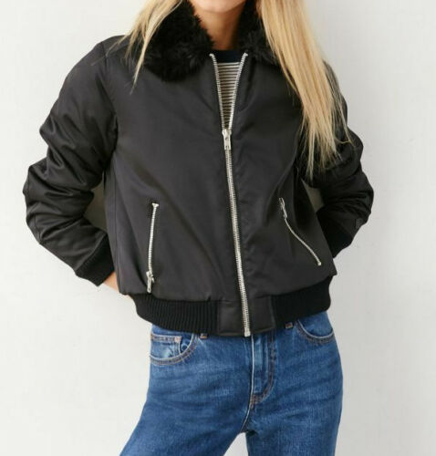 Shepard Rose Rambling Fausse Jacket Sm Black Bomber Obey New Fourrure Fairey FtaOqwa0Z1