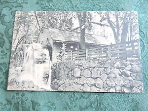 1905-10 Old Town Mill New London Connecticut CT Post Card