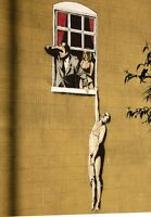 A3 Art Poster -  Lovers     -  Banksy Print