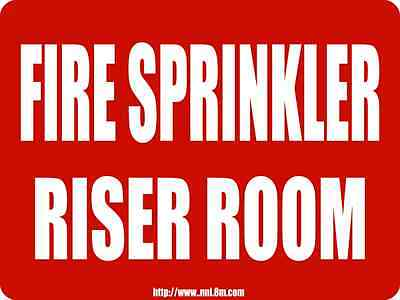 """10/"""" x 12/"""" ALUMINUM SPRINKLER SIGN Arrow Down Fire Department Connection-FDC"""