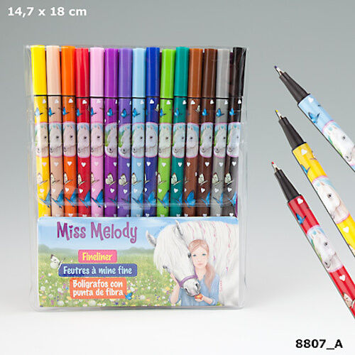 NEW MISS MELODY FINELINERS