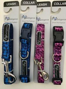 4-NEW-DOG-LEASHES-AND-COLLARS-2-2-SIZE-MEDIUM