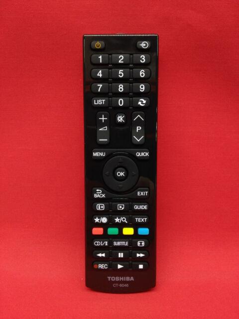 Mando a Distancia Original TV TOSHIBA HD READY // 24W1633DG