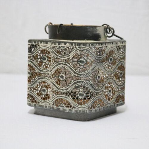 Shabby Schmiedeeisen Laterne Kerzenhalter Kandelaber Kerze Laterne 9 Stil