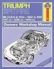Trimph Spitfire Owner's Workshop Manual by Haynes Publishing Group (Paperback, 2012)
