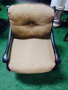 Patio-Club-Chair-furniture-Deep-Seating-Flamingo-Swivel-Rocker-Aluminum-Bronze
