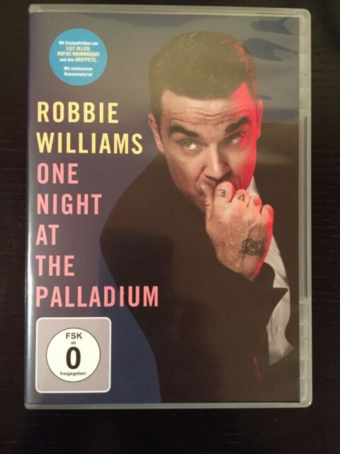 "ROBBIE WILLIAMS ""One Night At The Palladium""DVD/Konzert/L. Allen & R. Wainwright"