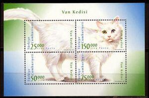 Turkey-1997-034-J099-Cat-034-Block-Mi-No-3105-8-MNH