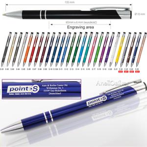 Promotional Personalised Laser Engraved Metal Ballpoint Pen!