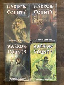 Graphic Novel Lot Harrow County Library Edition Vol 1 2 3 4 Hardcover TPB Comics