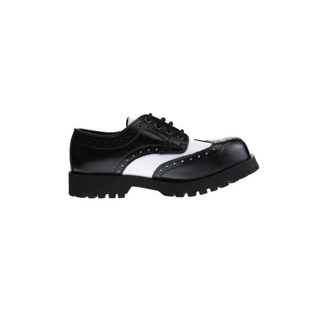 Stiefel & Braces - 4-Loch 4-Loch 4-Loch Budapester Schuhe Stahlkappe mehrere Farben e82681