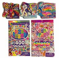 Lisa Frank Stickers (lot Of 5) 600 400 Books Three 325 Sticker Rolls Ships Fast