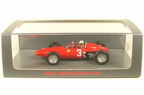 Brm P57 No.3 British Gp Formula 1 1963 (Lorenzo Bandini)