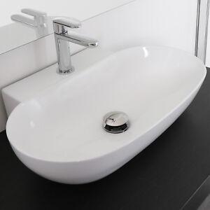 Lavabo bagno da appoggio a bacinella design moderno - Lavabo bagno da appoggio prezzi ...
