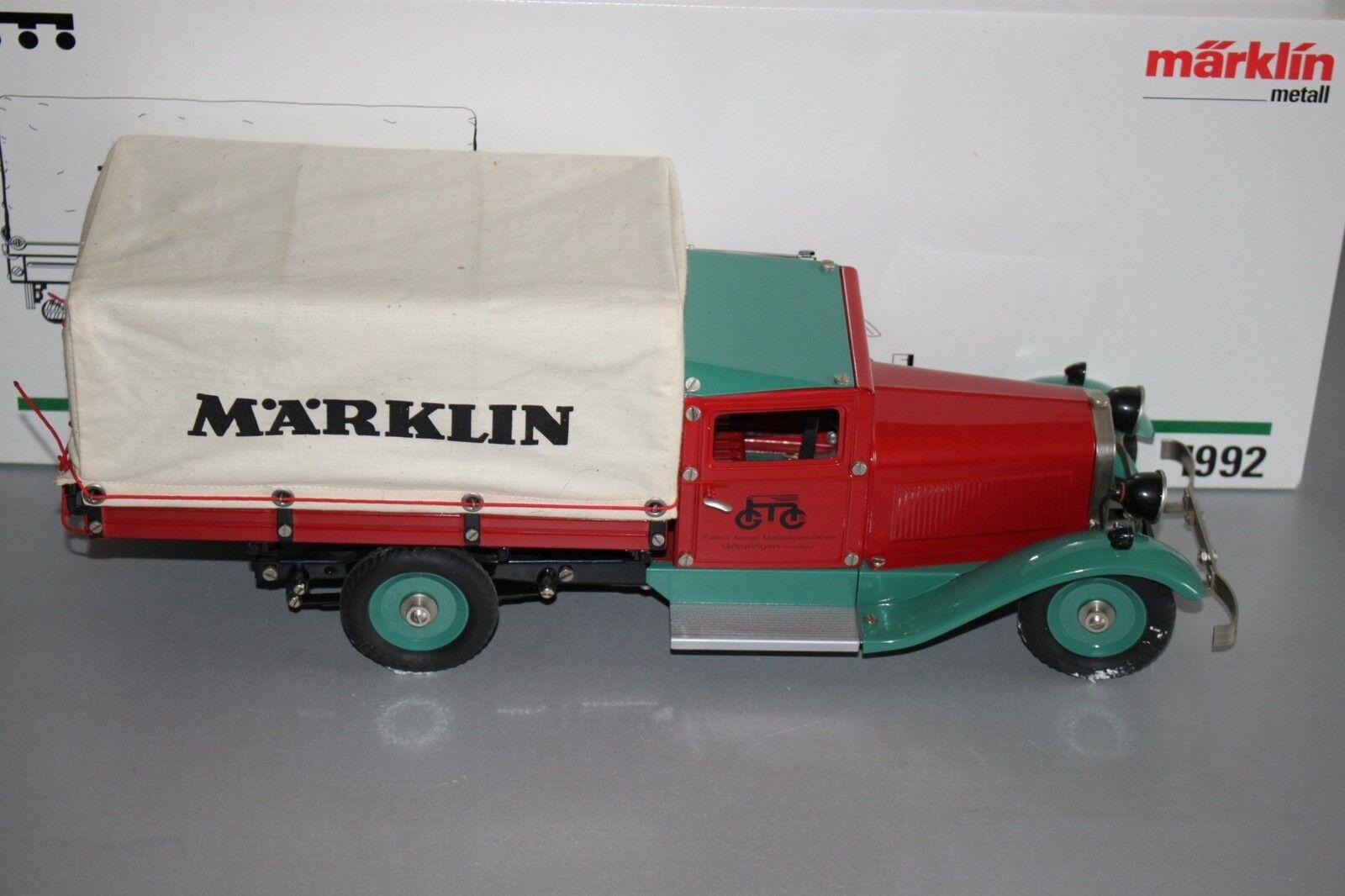 Märklin 1992 Branda-camion lamiera OVP