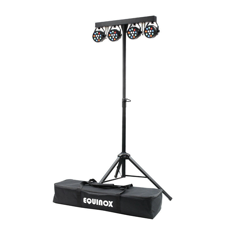 Equinox MicroPar Bar System LED Par Can Lighting DJ Disco DMX Light Effect T-Bar