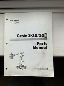 GENIE-SERVICE-Z-30-20-amp-Pieces-Manuel