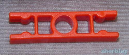 12 Pcs K/'Nex Knex Standard Connectors 2 way Straight ORANGE REPLACEMENT PARTS