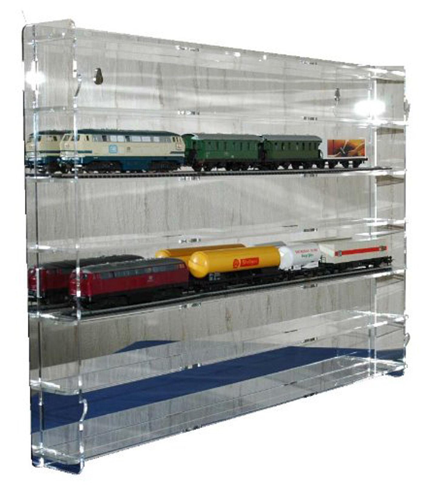 Sudu® acryl Hängevitrine, Schaukasten, Wandregal, Sammel Modellbahn Spur H0  |