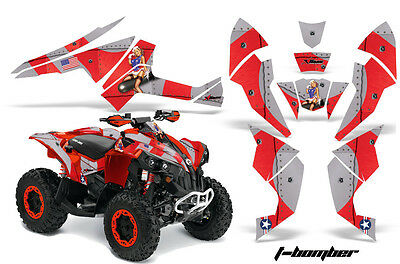 ATV Decal Graphics Kit Quad Wrap For Can-Am Renegade 500 X/R 800X/R 1000 TBOMB R