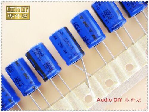 10pcs Philips BC 140 Series 220uF//35V Electrolytic Capacitors