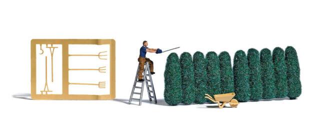 Busch 7838 Action Set: Hedgecutters, Model Construction Set 1:87 (H0)