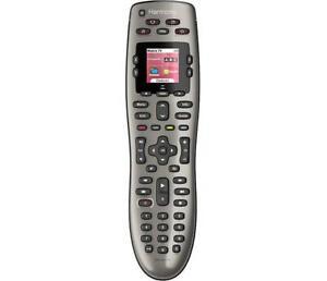 Logitech Harmony 650 LED Screen Universal Remote Control One Click Smart
