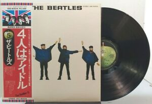 The-Beatles-Help-APPLE-EAS-80544-JAPANESE-PRESSING-WITH-OBI
