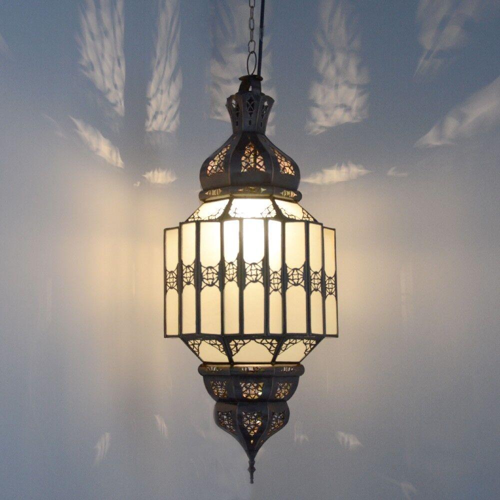 Orientalische Hängeleuchte Marokkanische Lampe Orient Deckenleuchte GHW H60 cm