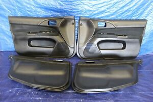 2006-MITSUBISHI-LANCER-EVOLUTION-9-OEM-FR-RR-INTERIOR-DOOR-PANEL-SCUFF-547
