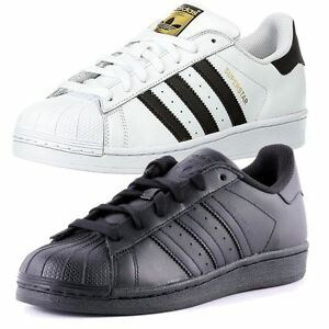 adidas superstars uomo nere