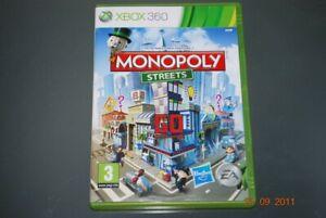 Monopoly Streets Xbox 360 UK PAL ** GRATUITE RU LIVRAISON **