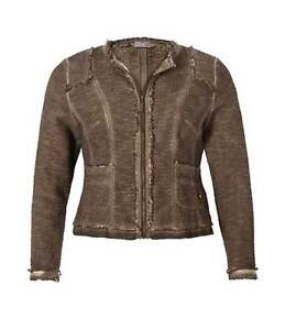 50 Bis look 40 Uvp Gr Vintage Jacke Braun Marken Luxusjacke nWxqC1w08A