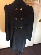 Kenneth Cole New York Double Breasted Women's Coat Size XL