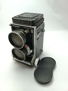 VINTAGE-MAMIYAFLEX-TLR-CAMERA-WITH-65MM-wide-LENS-working