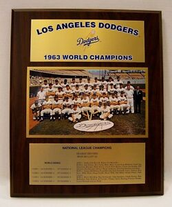 Los-Angeles-Dodgers-1963-World-Series-Championship-Plaque-by-Healy-Awards