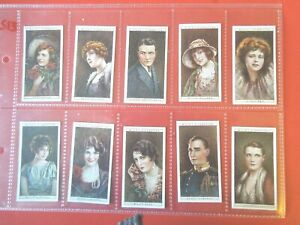 1928-Wills-CINEMA-STARS-movie-set-ser-2-Tobacco-Cigarette-cards-complete-lot